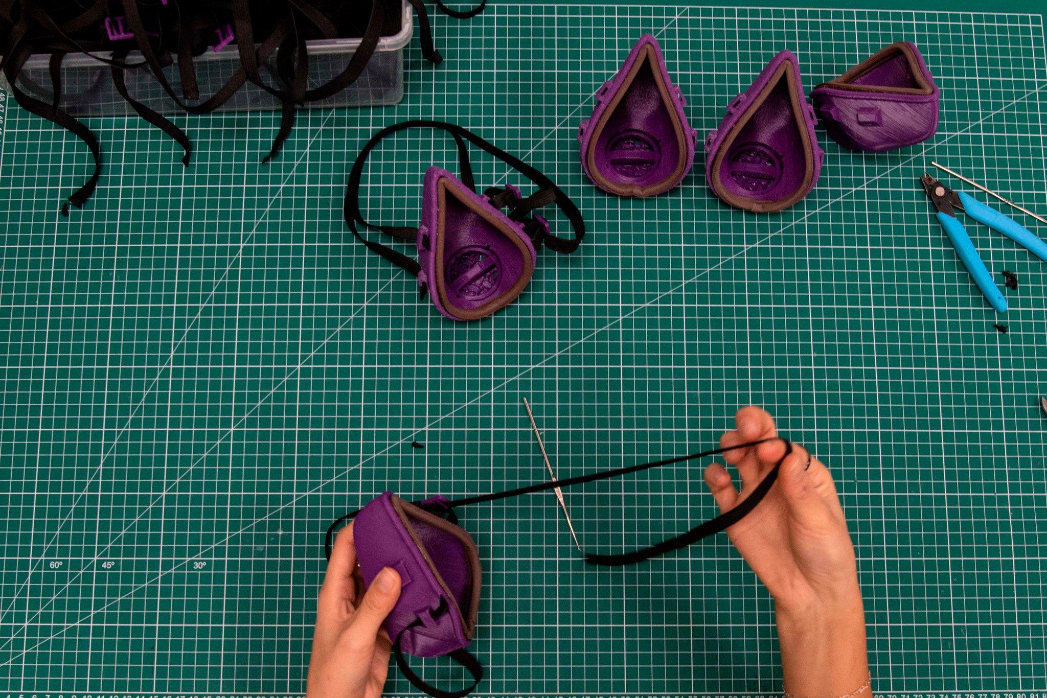 3D-печатные маски с медным фильтром