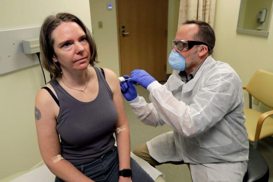 тестовая вакцинация от коронавируса ковид-19