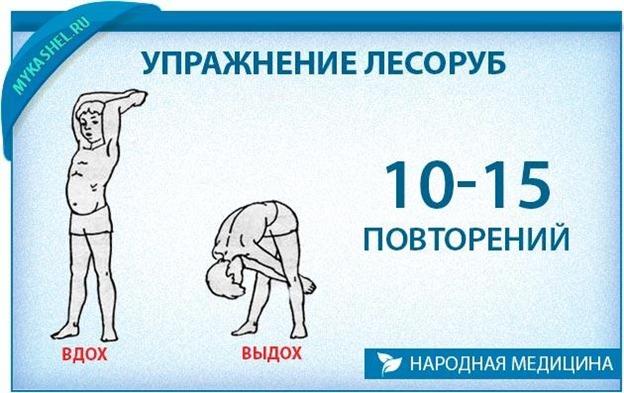 Дыхательная гимнастика при коронавирусе. Упражнение лесоруб.