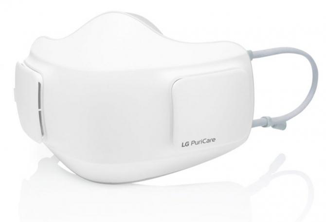 Новая маска LG puricare способна решить самую большую проблему - свободно дышать